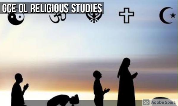 Religious Studies: GCE OL Topic-Specific Revision
