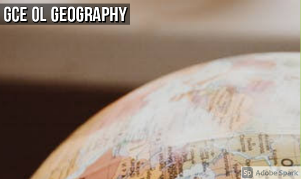 Geography: GCE OL Mock Exams