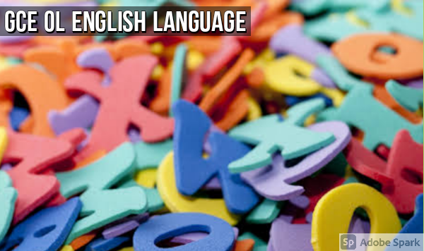 English Language: GCE OL Topic-Specific Revision