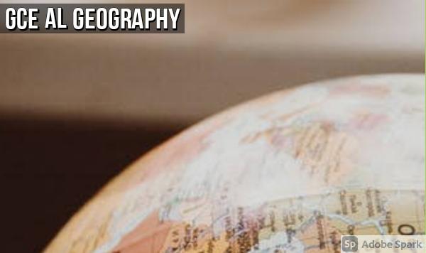Geography: GCE AL Mock Exams